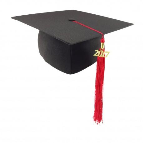 DĚTSKÁ studentská čepice MATT II. - černá