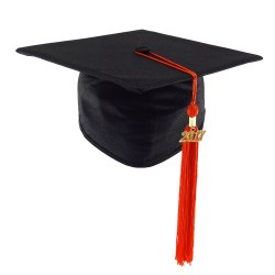 Graduation Cap STANDARD - black - XL
